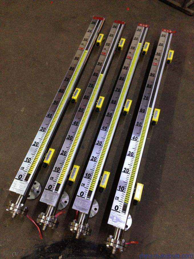 磁翻柱液位计安装图