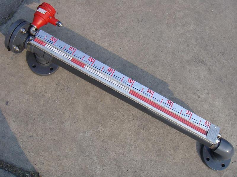 uhz磁翻柱液位计在广大生产厂家中不断根据UHZ磁翻柱液位计定做